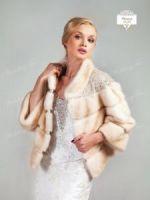 Норковая шубка для невесты продажа прокат аренда фото