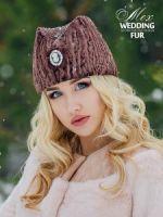 Модные меховые шапки из каракуля купить в Москве
