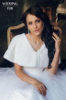 Свадебные и вечерние меховые норковые накидки от Скорняковой купить